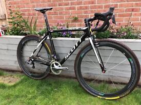 Scott Addict CX Carbon Fibre Road Bike Di2