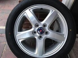 Saab brand new alloys
