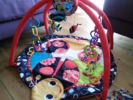 Bright Starts Baby Play Mat with Lights and Music