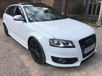 AUDI S3 2.0 TFSI S-TRONIC DSG QUATTRO SPORTBACK WITH EVERY OPTINAL EXTRA INCLUDING PAN ROOF
