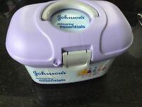 Johnson's skincaring essentials