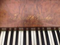 Fully functional piano used