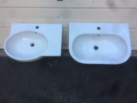 Two BATHROOM SINKS...