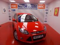 Ford Focus ZETEC(ONLY 12000 MILES) FREE MOT'S AS LONG AS YOU OWN THE CAR!!! (red) 2014