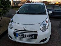 Suzuki Alto, 1.0L, white, petrol, 1 owner, low mileage, 5 door