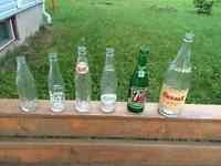 Antique Sussex Golden Ginger Ale Bottle and others