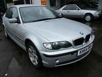 2005 54 BMW 320I 2.2 SE AUTO SALOON SUPER LOW 67K LONG MOT 3/17 FSH LEATHER CRUISE PX SWAPS