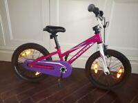Specialized Hotrock 16 inch pink/purple bike