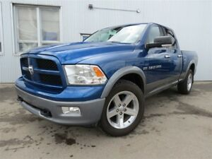 2011 Ram 1500 SLT, 4X4, BLUETOOTH, SAT RADIO.