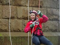 165ft Abseil From The Forth Rail Bridge for Ronald McDonald House, Glasgow