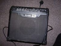 Line 6 Guitar Amp 15W with multi effects