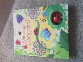 New Usborne wind up ladybird book