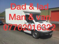 Dad & lad removals - single items to full house moves 24-7