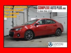 2014 Toyota Corolla S Sport *Toit ouvrant,Cuir,Mags,Camera recul