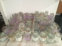 Decorated Jam Jars
