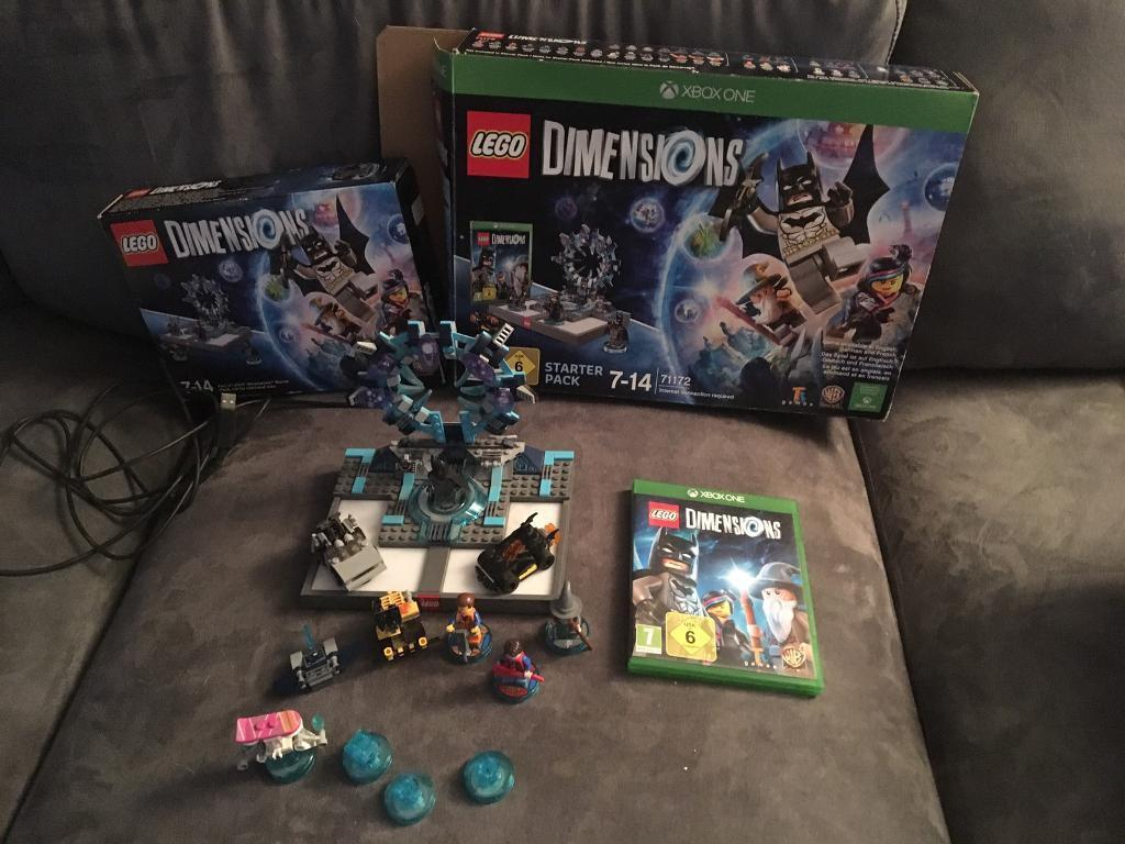 Lego Dimensions starter pack with extras