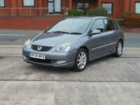 05 HONDA CIVIC 1.6i V-TEC EXECUTIVE + LEATHER + TOP SPEC