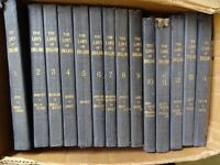 Full set of 14 Law books from 1907-1910, good condition, Earle of Halsbury, Clownes printers