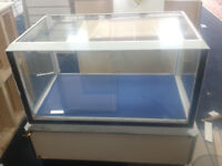 GLASS CABINETS--VARIOUS SHAPES SIZES EX-JEWELLEY SHOP must go quick OFFERS OFFERS