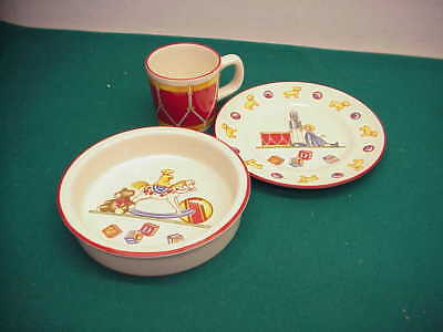Toys And Co (Tiffany and Co Preown Mason Toys Childs set Bowl plate)