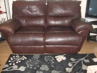 2x2 leather sofas