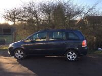 Vauxhall Zafira Club 7 Seater