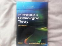 An Introduction to Criminological Theory by Roger Hopkins, 3rd Edition + MORE BOOKS Business IT