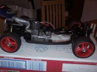 Tamiya NDF-01 Ready to go nitro buggy