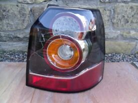 Freelander 2 rear offside tail light unit - spares/repair see desc & pics