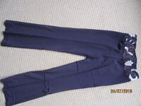 GORGEOUS Genuine Karen Millen formal Trousers as new Size 8/ Small
