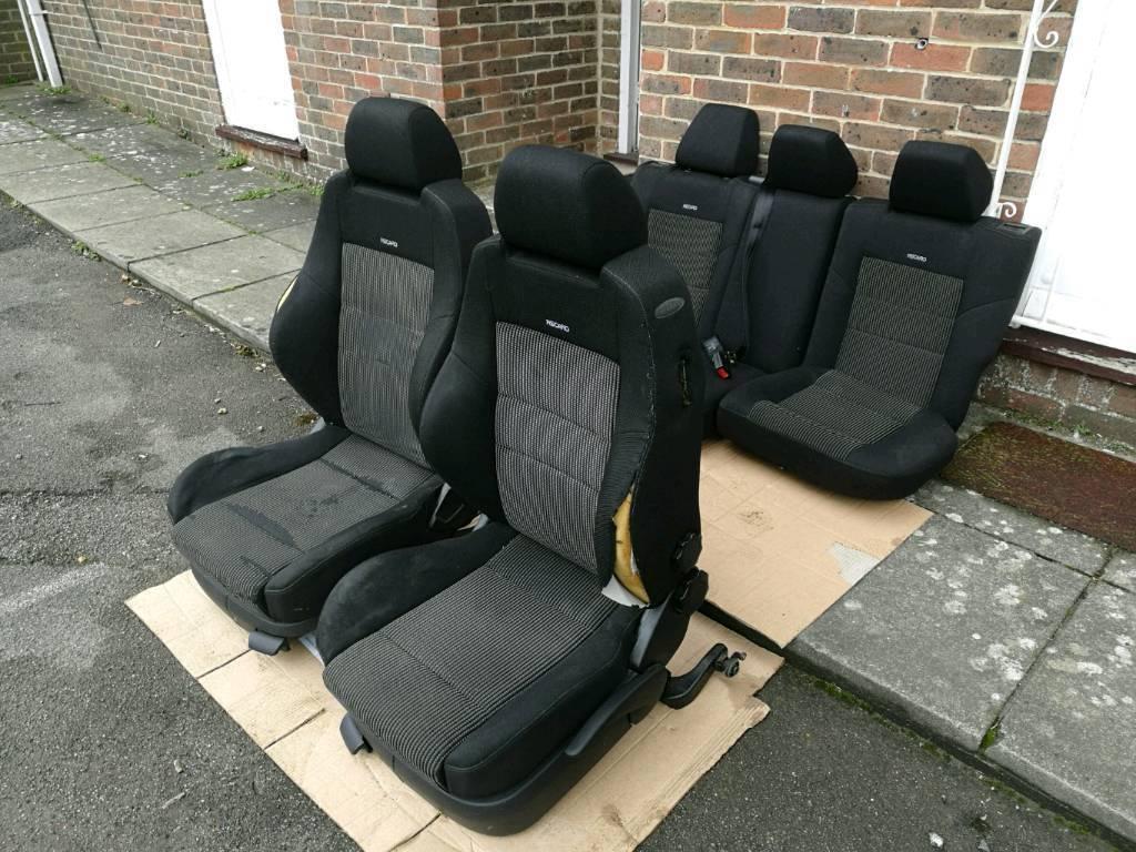 Mk4 Golf Gti 3dr Recaro Seats Front Amp Back In