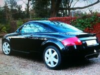 Raven Black Audi TT 1.8 BAM Engine Full Leather