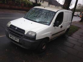 Doblo van in white, with ignition / starter issue