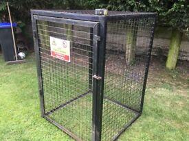 Large Cage USED Lockable LPG