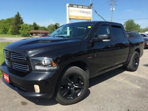 2016 RAM 1500 Sport Black on Black with every possible option...