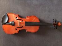 Stentor student 1/2 size violin