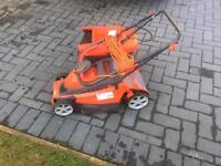 Electric lawnmower flying chevron 34vc