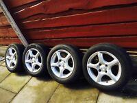 lightweight alloy wheels suit 16-16i Crx vti vtec civic ed7 ef9 ej9 ee9 jdm 4x100 fitment