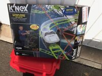 Knex set rollercoaster tycoon, and box of knex