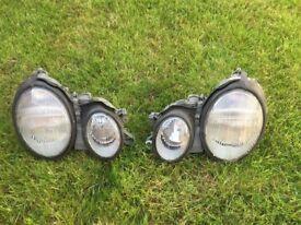 Mercedes CLK 200 W208 front lights Headlamps Cheap