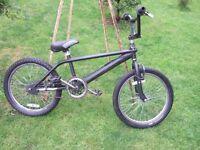 "Boys BMX - Black with 20"" wheels Gyro brakes"