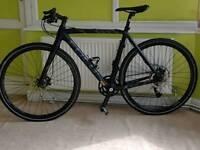 Focus Carbon fibre Hybrid Bike