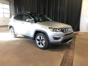 2019 Jeep Compass Limited 4X4 / Sunroof / NAV / Leather