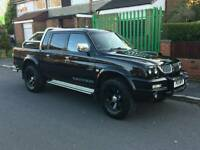55 plate Mitsubishi l200 warrior low miles STUNNING TRUCK!!