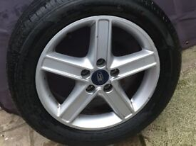 Ford Focus 5 Spoke Alloy Wheel.