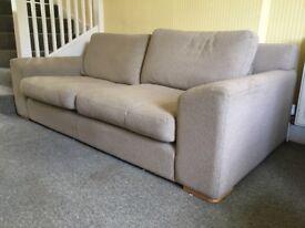 Heal's four-seater Sofa