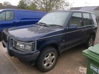 Range Rover p38 for sale, petrol, automatic, 112k, mot September 2018, runs well