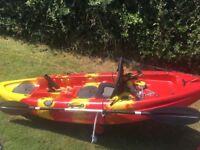 Hi marine 'mini angler' 9ft fishing kayak