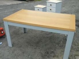 Ex of next dining table seat 6/8