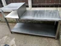 Stainless table suit cafe/ restaurant cost over £400 new selling for £90